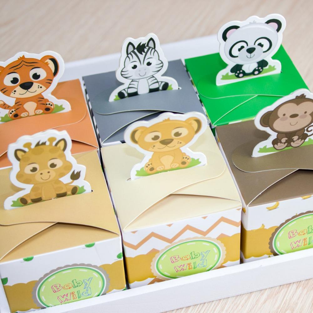 Stix n Pops: Jungle Baby Shower |Safari Animal Baby Shower Favors