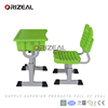 Children furniture Ergonomic study table chair plastic primary study table chair for kids