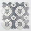 Modern house home marble washing room bathroom kitchen floor stone mosaic tile marble waterjet medallion