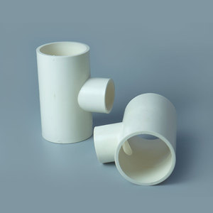 Dimensions Plastic UPVC CPVC PVC Water Pipe Fittings Cross Tee