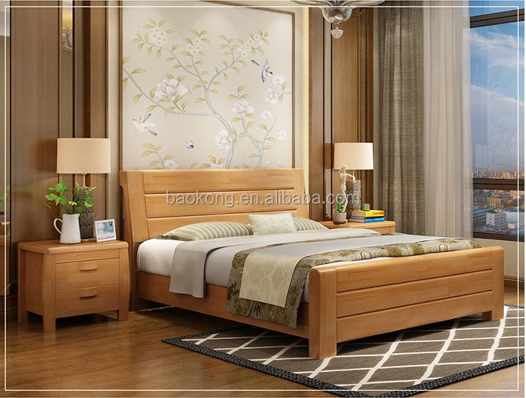 Camera Da Letto In Legno Massello : Noce mobili camera da letto in legno massello letto matrimoniale