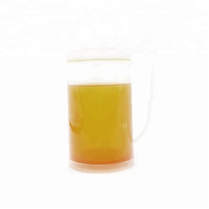12oz Plastic Double Wall Freezer Beer Mugs with Refrigerating Liquid
