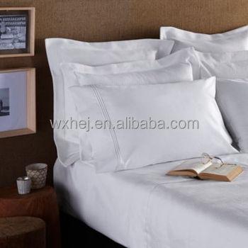 Polycotton/cotton White Plain Hotel/hospital Bed Sheets Single/double Size