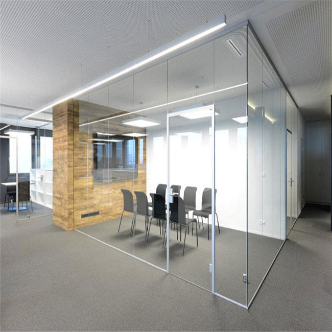 Guangzhou Office Cubicles Movable Sliding Glass Block