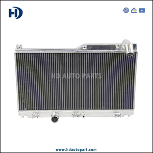 42mm 2 Row Engine Radiator for Mazda Speed RX7 92-95 FD3S Manual S4