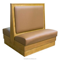 wholesale commercial furniture wooden restaurant booth seating
