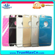 Mirror PC Back Cover, Like Original Pattern TPU Case for iPhone 6