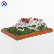 Wholesale Potala Palace in Tibet China Miniature Tourist Souvenir Chinese Famous Building Model