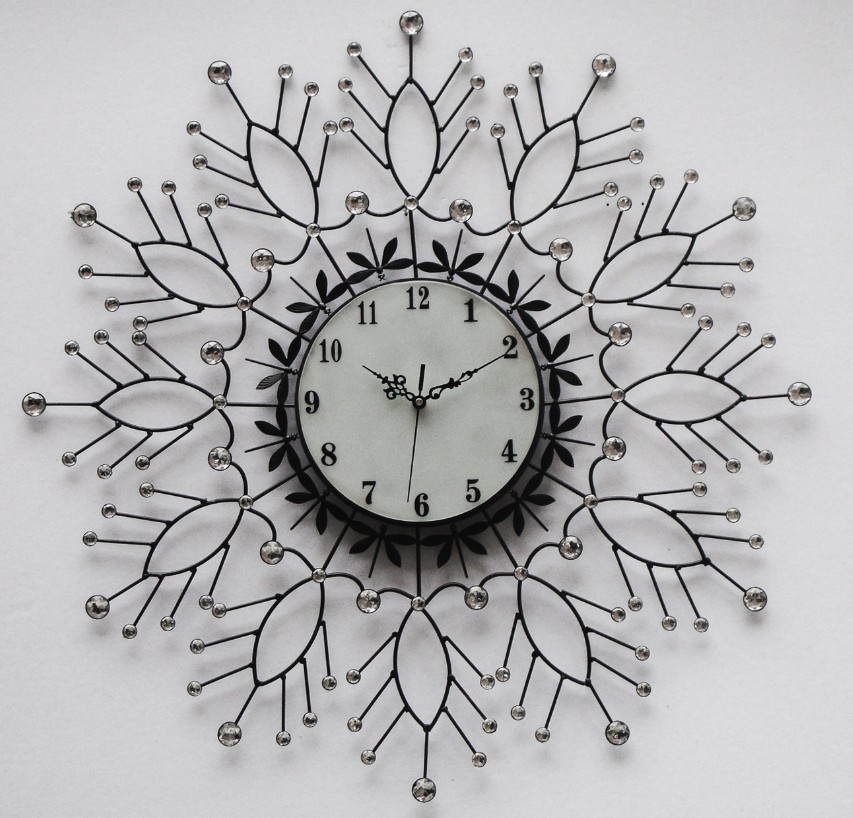 Design moderne horloge murale mur horloges gros for Grosse pendule murale design