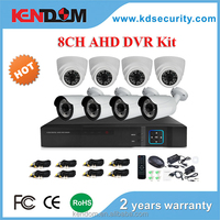2016 The Hottest CCTV 8CH AHD Kit 4pcs Indoor + 4 pcs Outdoor CCTV Kit 8 Channel H 264 DIY Your Interested DVR System