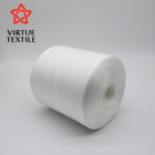 100% polyester spun yarn 30/1 for weaving