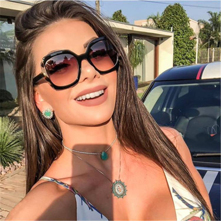 97671 2019 Flymoon Eco Friendly italy design ce sunglasses hot sell in eyewear market womens sunglasses