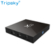 X96 Amlogic S905X Quad Core 2GB ram 16GB rom cheapest hd free video tv box