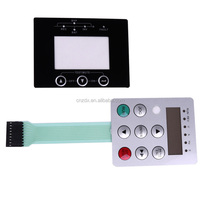 2018 new hot sales embossed button membrane switch
