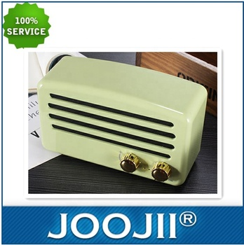 Mini Vintage bluetooth speaker