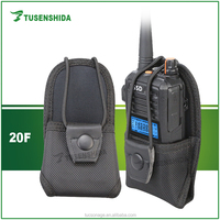 MSC-20F Carrying Leather Case for Baofeng TYT Motorola Walkie Talkie Used Nylon Case