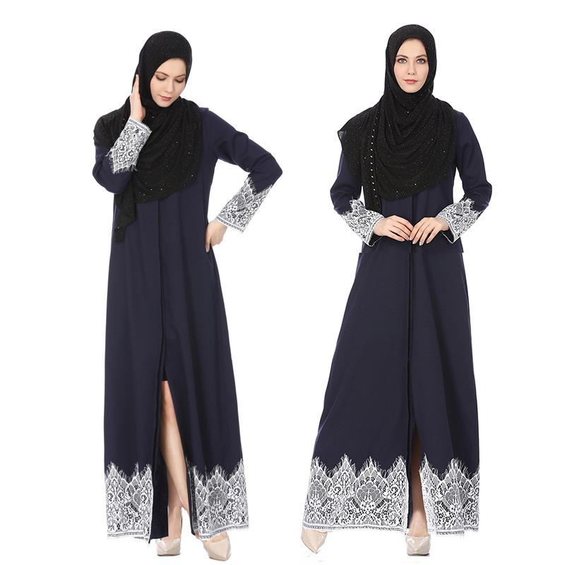 高品質レディース現代ドロップ無料インド服パキスタンイスラムシンプルカフタンドレス