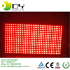 high brightness outdoor single color red P10 led pixel module display board