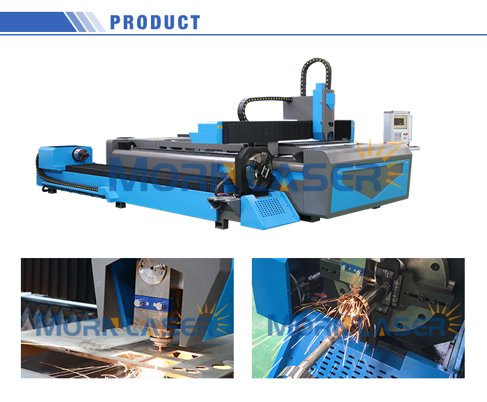 1500w Stainless Carbon Mild Metal Tube and Pipe IPG Fiber Laser Cutting Machine