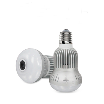 3.0MP light bulb Motion Detection mini dv video recorder Cam p2p ip wifi bulb camera