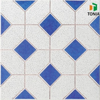 Artificial Ceramic Tile Floors Blue Mix Dark Spot Rustic Tile Buy