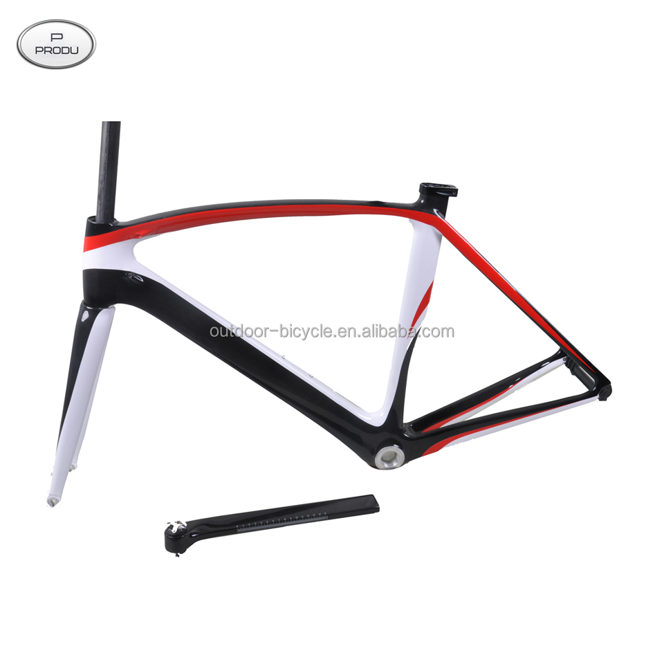 Top quality and new design aero carbon road frame FM098, compatible with DI2 version and mechanical vesion