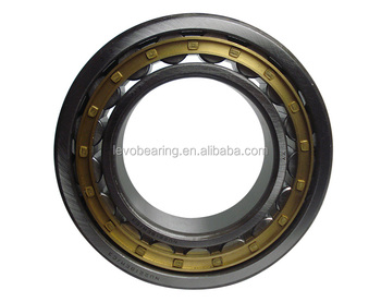 NU204EM brass cage Sing row cylindrical Roller Bearing