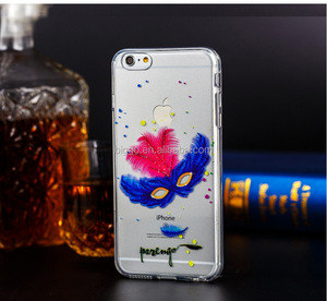 New Ultra-thin Transparent clear soft TPU Mask Protective Back Cover Case for iPhone 6/6s