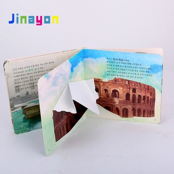 Jinayon New Custom Children Hardcover Reading Book Printing with Eva Foam 3D pop up Customized