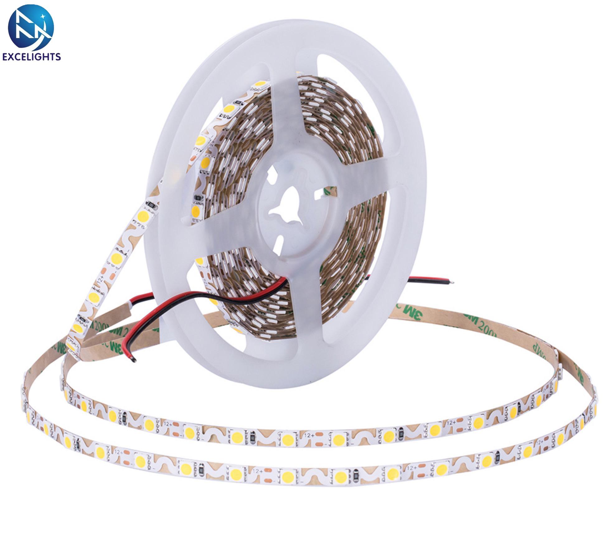 10m/rollo Ultra estrecho señalizaciones canal carta SMD Flexible cinta 12V DC 2835 S en forma de Zigzag LED de luz de tira