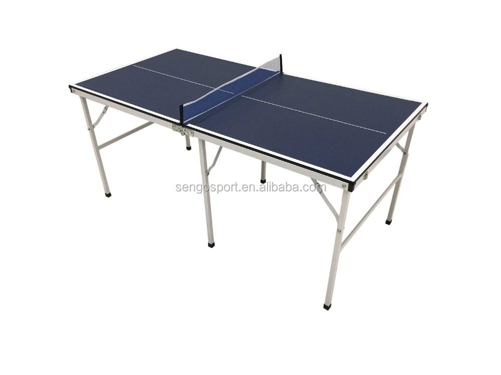 333fabd9c2 Mini tenis de mesa de Ping Pong interior sala de juego portátil mesa  plegable