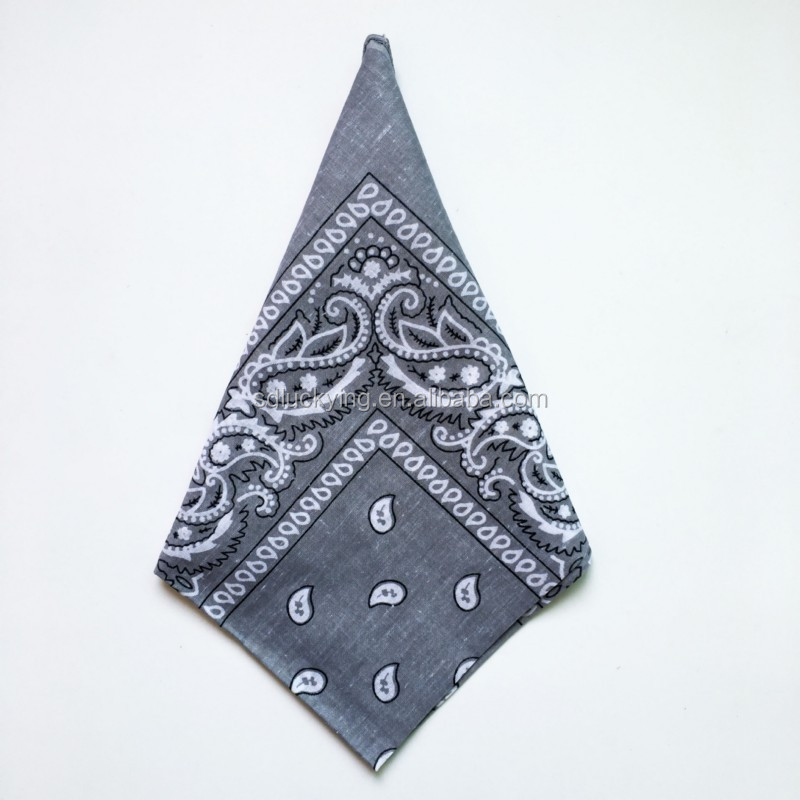 2018 new design bandanas handkerchiefs magic multifunctional bandana pocket square and big handkerchief manufacturer