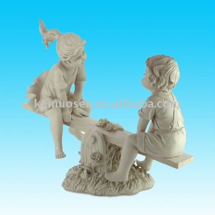 hotsale r sine jardin statue enfants figurine artisanat. Black Bedroom Furniture Sets. Home Design Ideas