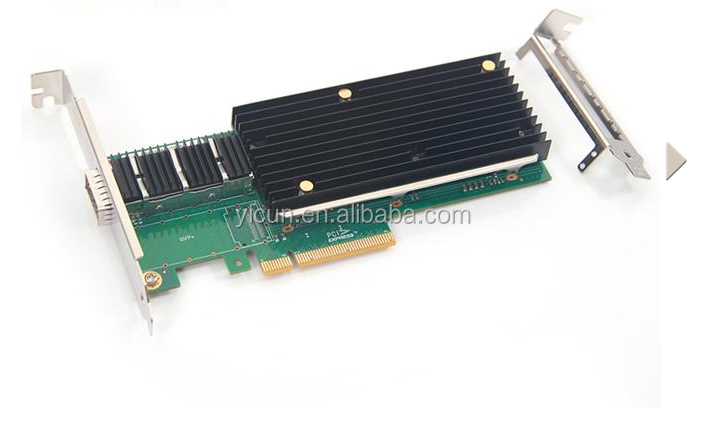 Intel Ethernet Converged XL710-QDA1 PCI Express 3.0 x8 Network adapter 40Gigabit Card, Single QSFP+ Port
