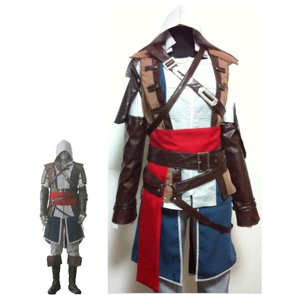 Buy Boys Child Edward Kenway Cosplay Costume Kids Assassins Creed