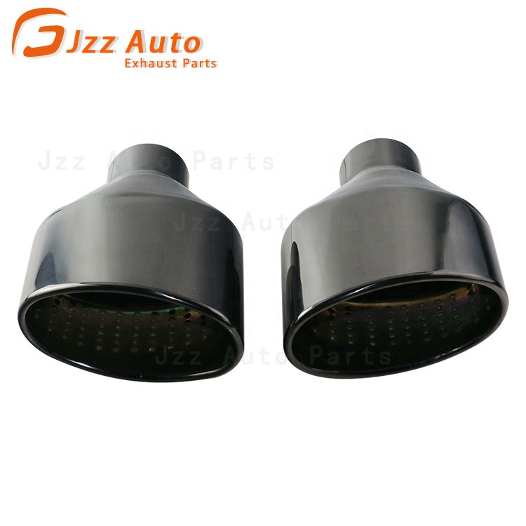 JZZ car Stainless Steel muffler Tip auto parts exhaust End Pipe for audi a3 8p