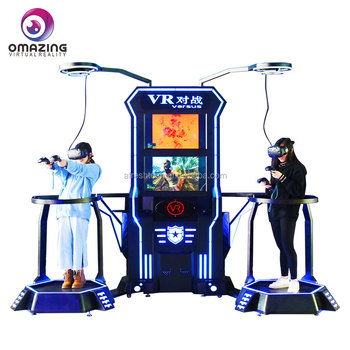 Omazing VR Interaktif Pertempuran Simulator Game Virtual Reality Pertempuran Shooting Game VR Platform