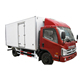 China manufacturer 3 tons frozen food truck with Thermo King Unit Reefer truck in Iran