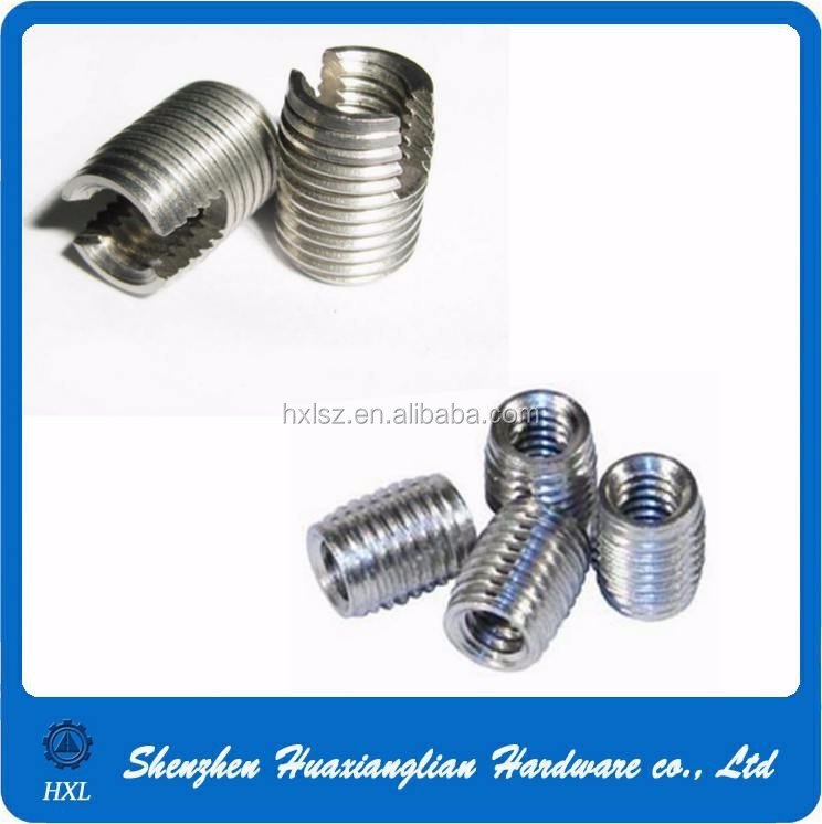 Stainless Steel Furniture Threaded Insert Wood Nut