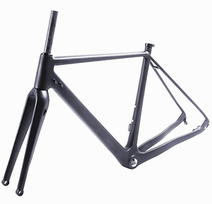 CX Bicycle Frame 40 C MAX Tire DI2 Disc brake Carbon Cycle cross Road Bike Frame