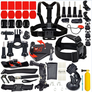Best Sports Camera Accessories for GoPros Pack Sets Kits for Hero 6 5 4 3+ 3Black sj4000