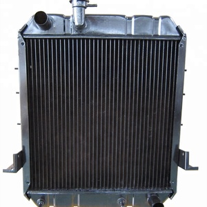 Dual water and oil cooling radiator 4HF1 8981498382 truck radiator for ISUZU