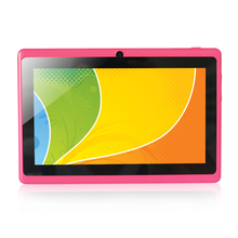 Yuntab 7 inch Q88 Allwinner A33 Quad Core 512MB/ 8GB Android 4.4.2 Kids Tablet PC HD Screen 1024*600  Dual Camera Free Shipping