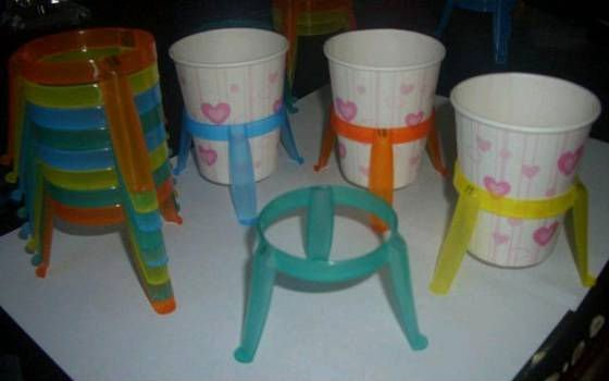 OEM Plastic Holder For Disposable Cup