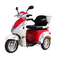 1000w 48v adults electric 3 wheeler mobility scooter