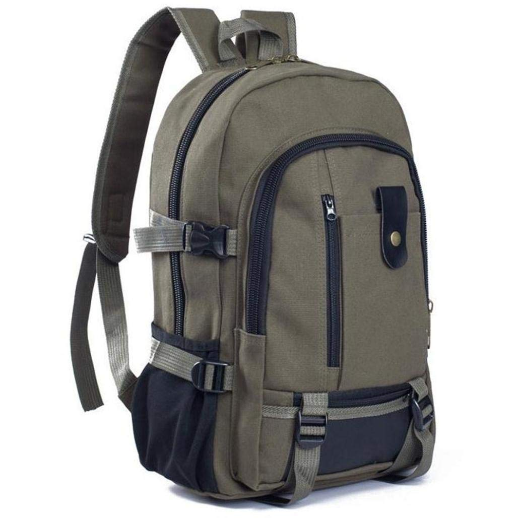 Get Quotations · SHL Canvas Backpack for Men 27adf40dfcac5