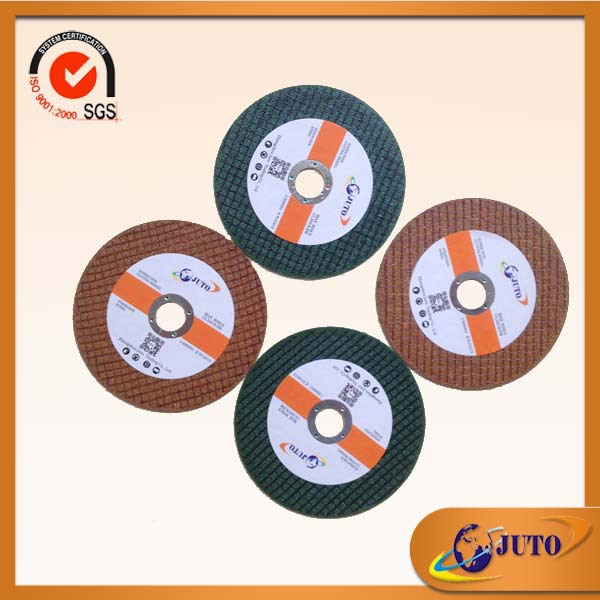xp quality cutting disc 4 inch cut-off wheel/Yuri quality/ cutting wheel for metal/inox/steel