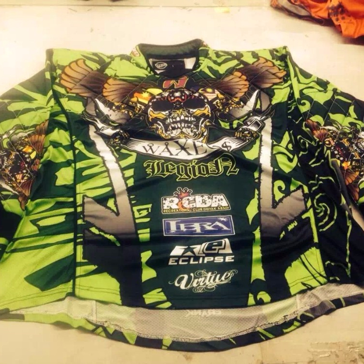 High quality custom Paintball Jersey Made in China