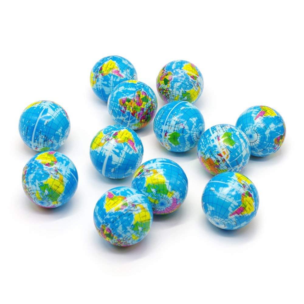 b99c94e5f Get Quotations · Bravo Sport Globe Squeeze Stress Balls