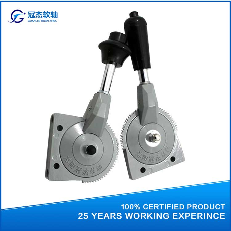 GJ1103A throttle cable crane control lever for excavator, fire engine and road roller